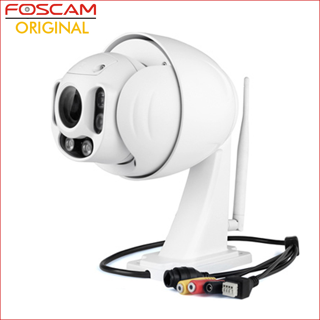 FHD Wireless PTZ Dome IP CCTV Camera with CCD Sensor