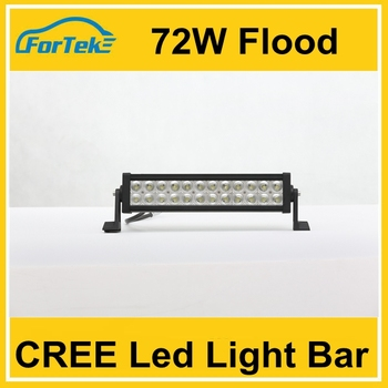 72w led light bar hot sxs led light bars supply 24v led flood light bar