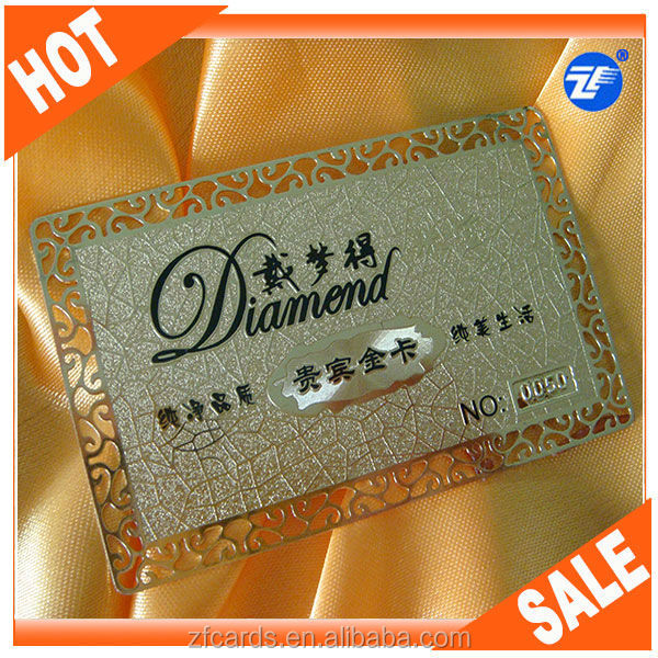 Factory direct cheap metal business card