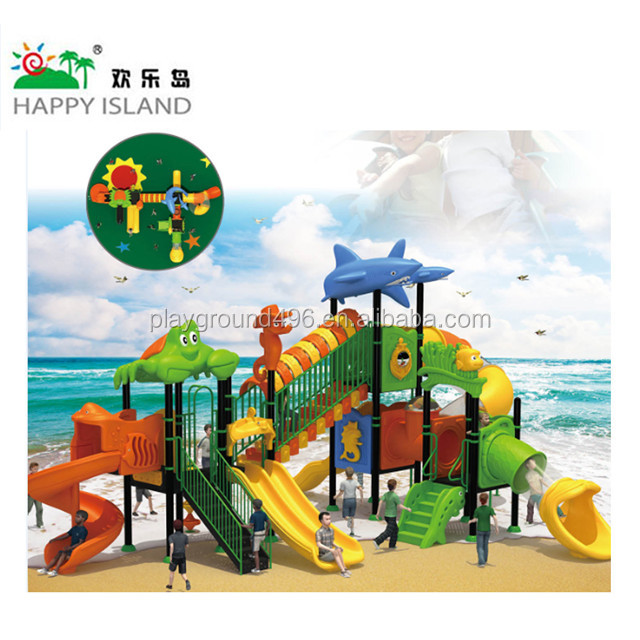 Anti-aging and durable combine outdoor game playground