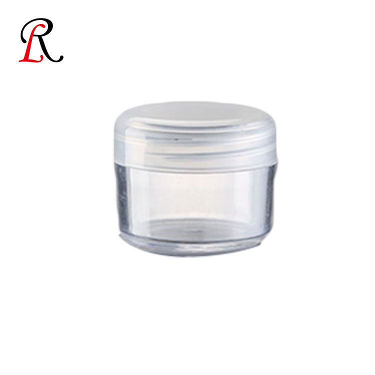 Alibaba Suppliers 25g Plastic Sample Empty Pp Cosmetic Jar