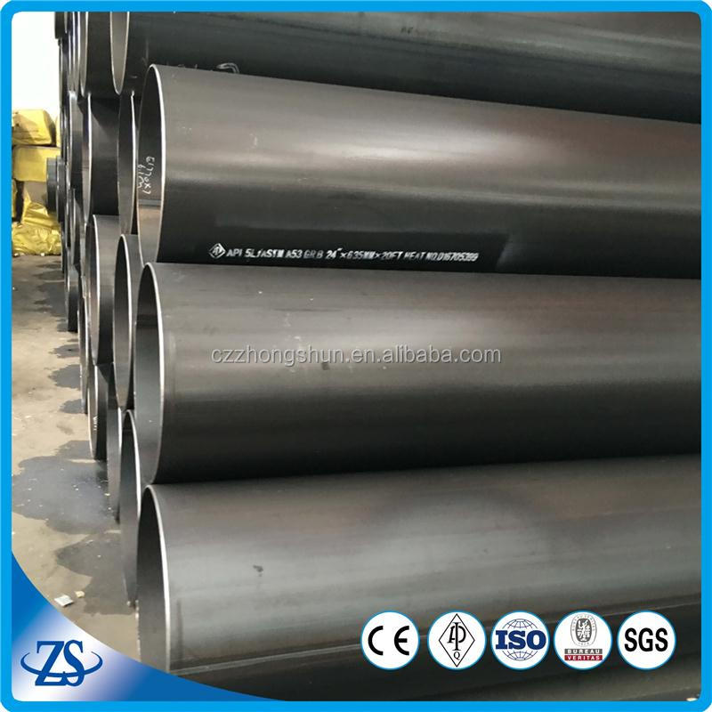 api 5l black iron pipe welded steel pipe and tube for building material