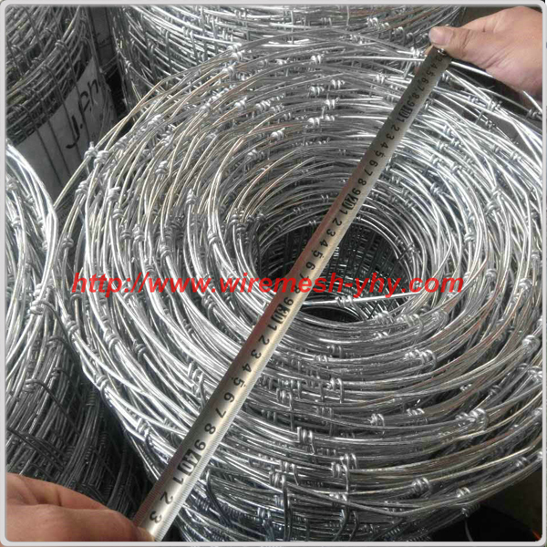 High quality galvanized 8' fencing wire/ deer farm fencing wire