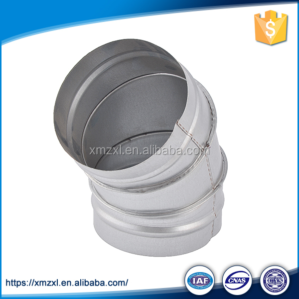 Trade Assurance Galvanized Sheet Hose Fitting Pipe Elbow