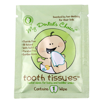 tooth clean baby wet wipes