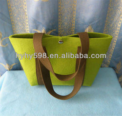 fancy ladies handbag felt tote bag
