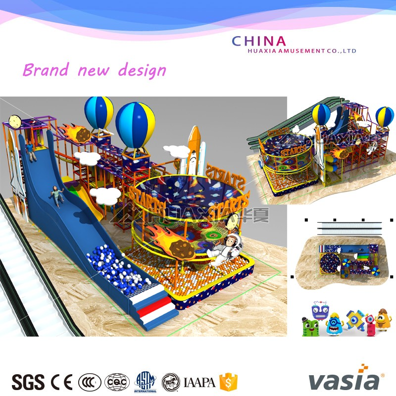 Super slide new design children commercial indoor used playground equipment for sale