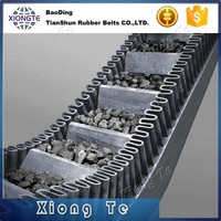 China factory export sidewall conveyor belt N, S and ES type