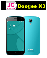 New arrived fresh blue doogee x3 latest bulk china mobile phone with IPS screen