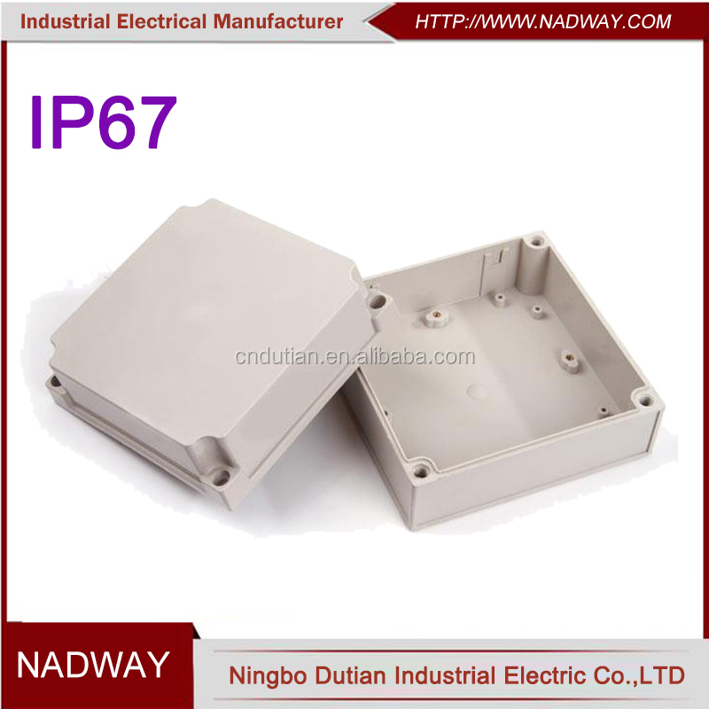 ABS plastic ip67 plastic waterproof electrical junction box