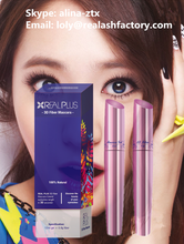 Mascara eyelash coating type wet and dry set best combination 3D fiber lash mascara for cosmetics