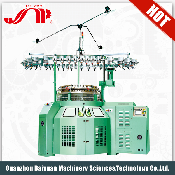 Great Design High Speed Single Automatic Scarf Knitting Machinery With Quality Assurance