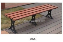 china popular factory wood plastic cpmposite garden bench,chair in park ,outdoor