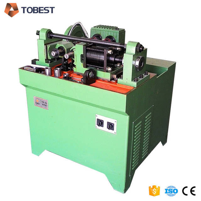 High speed thread rolling machine anchor bolt threading machine
