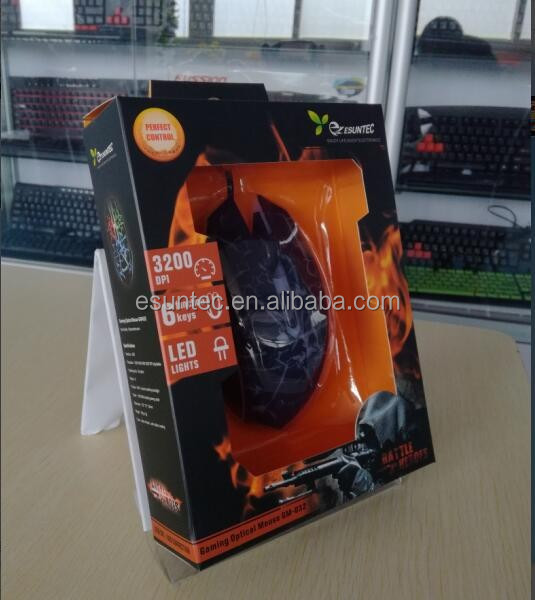 USB Optical Gaming Mouse, Drivers USB 6D Gaming Mouse GM-032A