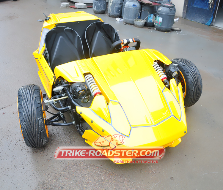 High Speed ZTR Trike Roadster 300cc Zongshen Engine TR2501 Made in China