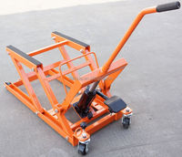 1000lb Hydraulic Atv Jack Stand Quads Lift With Rubber Support Arms