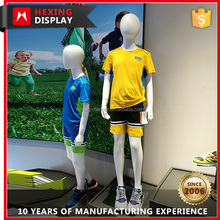 Fashion Fiberglass Standing Child Model Boy Mannequin