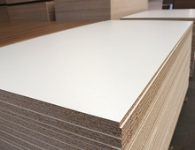 melamine particle board 18mm white