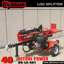 Hot sale!firewood processor ariens beautiful design vacuum tire 40 tonne wood log splitter