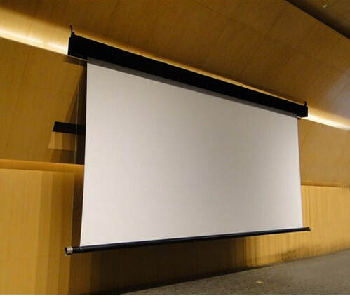 300 16 9 Motorized Projection Screen With Remote