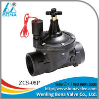 irrigation solenoid valves with flow control