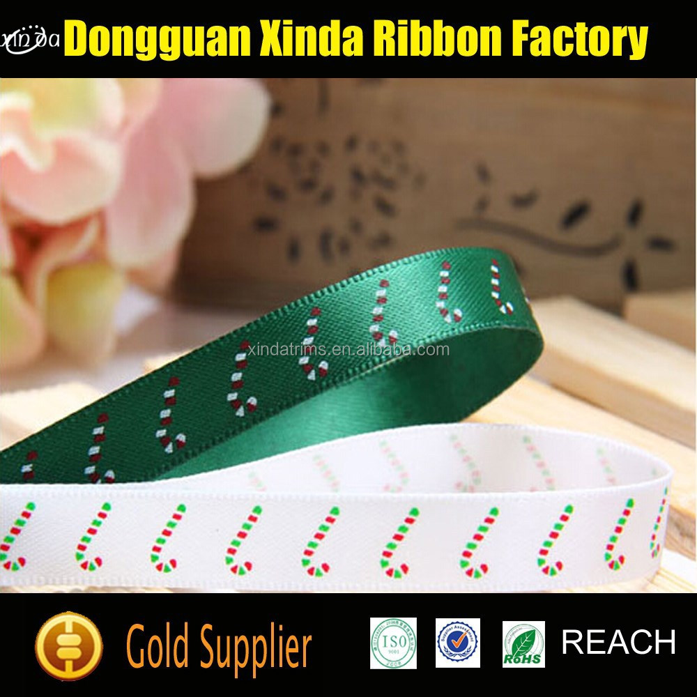 Cheap Price Wholesale 5 inch Polyester Striped Satin Ribbon