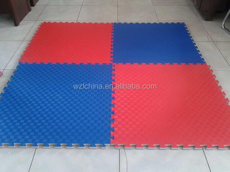 Top grade wood grain eva aikido tatami mat