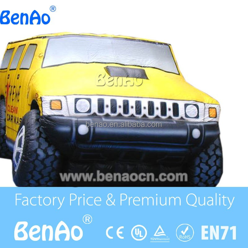 Z143 used commercial Inflatable Car model, inflatable Advertising product replica