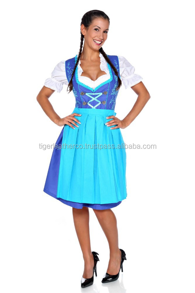 2015 NEW DESIGN DIRNDL DRESS / GORGIOUS & SEXY DIRNDL FOR WOMEN