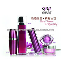 Ball Bottle Square Airless Bottle Cosmetics