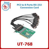 PCI to 8 ports RS-232 Multiport Serial Card UT-768