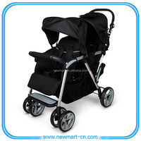 Twin Stroller,Double Stroller,Twin Tandem Stroller With EN1888 and ASTM approval.