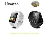 Bluetooth Smartwatch U8 U Watch Smart Watch Wrist Watch for iPhone 4/4S/5/5S Samsung S4/S5/Note 2/Note 3 Android Smartphone