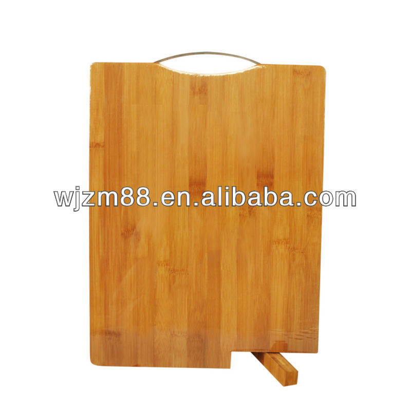 Folding Stand Cutting Board with Metal Handle