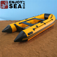 Jiahai CE foldable PVC hull rubber boat inflatable dinghy boat for sale!