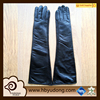 comfortable wholesale women style long lambskin leather glove