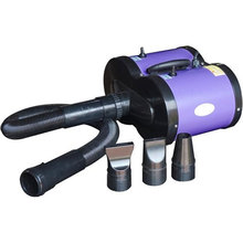 Pet Dog Grooming Hair Dryer Blaster Handheld Heater 2800W - Purple