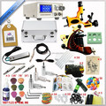 New Tattoo Machine Guns grips tips KIT Set Supply Tatoo Machine Kit
