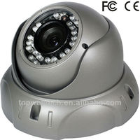 4-9mm varifocal lens dome cctv IR Sony CCD Camera waterproof 420 to 700TVL optional