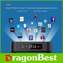 2016 Android 4.4 mini PC S905 Octa Core T95 T95N T95M android tv box 1G RAM 8G ROM T95M smart TV box WiFi 4K*2K 1080P