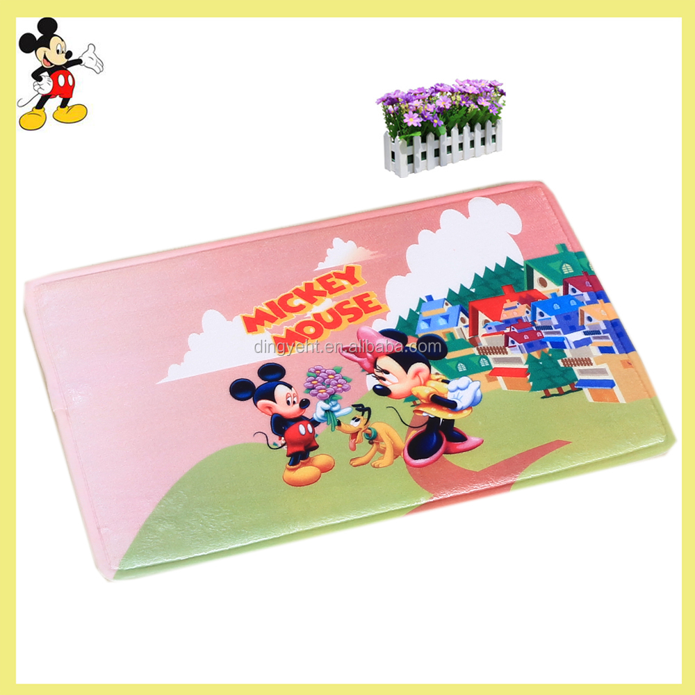 Disney authorized dealer China factory baby nap mat under table kids play mat