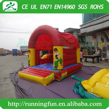 Kids Royal Bounce House, Inflatable Bouncer Moonwalk, Jump Bouncy Castle With Water Slide For Sale