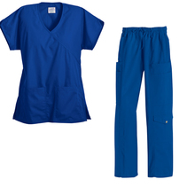 New Trendy medical scrubs in TRS Fabric instead of TC Wholesale Zhengzhou XingYuan