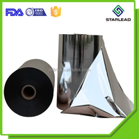 9-25um silver bopp film, metal bopp film, metalized matt bopp film