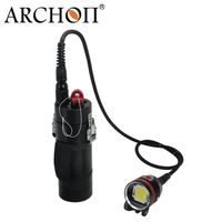 High quality WH108 200watts high power aluminum waterproof diving led torch