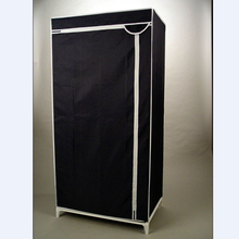 simple non-woven fabric wardrobe/portable folding wardrobe/ cabinet/canvas wardrobe