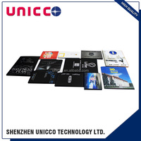 Chinese new product to custom 3.5 inch LCD video brochure card,Video brochure greeting card