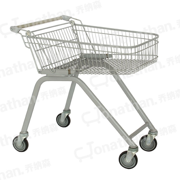 70 Liter portable metal shopping trolleys for the elderly household