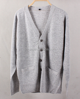 Knitting coat sweaters for men cashmere tops sweater school cardigan